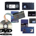 Wir reparieren gerissene Videokassetten und retten Ihre Videoaufnahmen auf Kassetten