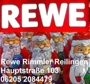 Weihnachtsangebote bei Rewe Rimmler in Reilingen