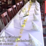 Restaurant Fodys Fährhaus Ladenburg, Eventlocation, Exclusiv Restaurant