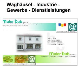 Waghäusel - Industrie - Gewerbe - Dienstleistungen