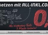 All-Inkl.com Ihr starker Partner für Server, Webhosting, Domains, Reseller, Systemlösungen, alles einfach Internet.