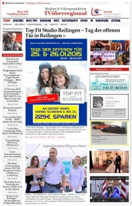 TVüberregional Reilingen Top Fit Studio erich kleus tag der offenen Tür