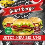 GIANT BURGER – NEU – BEI FODY´S FÄHRHAUS UNBEDINGT REINBEISSEN