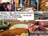 Maifest in Zeutern bei der Alten Fischerei 1.5.2015 – 3.5.2015