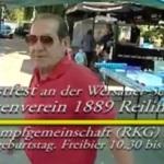 Ringkampf Gemeinschaft RKG Reilingen feiert Vereinsgeburtstag – Freibier inklusive-