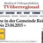 Termine in der Gemeinde Reilingen vom 16.04. bis 23.04.2015