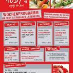 Ganze Woche günstig Mittagessen und Abendessen Restaurant Fodys Fährhaus Ladenburg