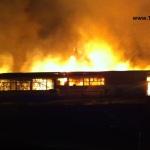 Großbrand Römerstraße Wiesloch – Lagerhalle – Küchenstudio – Möbelgeschäft – BIWU Wiesloch – und mehr – abgebrannt –