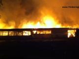 Großbrand Römerstraße Wiesloch – Lagerhalle – Küchenstudio – Möbelgeschäft – BIWU Wiesloch – und mehr – abgebrannt -