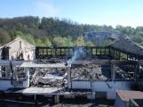 Der Großbrand in Wiesloch – am Tag danach –