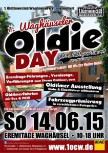 Erster Oldtimer Club Waghäusel eV am Sonntag 14 - 6 - 2015 an der Eremitage ab 10 Uhr bis 18 Uhr