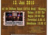 Country Open Air am 13 – 6 2015 in Brühl auf der Buffalos Ranch