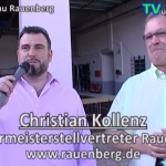 Gewerbeschau Rauenberg 2015 - riesige Veranstaltung erfolgreich umgesetzt Christian Kollenz stellvertretender Bürgermeister Rauenberg