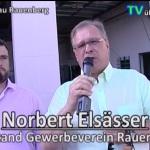 Gewerbeschau Rauenberg 2015 - riesige Veranstaltung erfolgreich umgesetzt Norbert Elsässer Vorstand Gewerbeverein Rauenberg