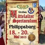 Mittelaltermarkt Philippsburg Ankündigung für nächste 2 Tage