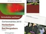 petite FLEUR der besondere Gartenmarkt in Hockenheim zu Pfingsten 2015 auf dem Gartenschaupark