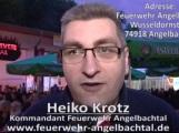 150 Jahre Fest Feuerwehr Angelbachtal am 12. Juni bis 14. Juni an der Feuerwehr. Wusseldornstraße 2 – 74918 Eichtersheim