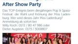 Gesucht wird – Miss Ladenburg und Mister Ladenburg – am 27.06.2015 im Restaurant und Eventlocation Fodys Fährhaus
