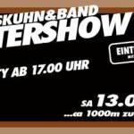 Samstag 13-06-2015 Dieter Thomas Kuhn in Ladenburg – Vorglüh- und After-Show Party im Fodys Fährhaus in Ladenburg