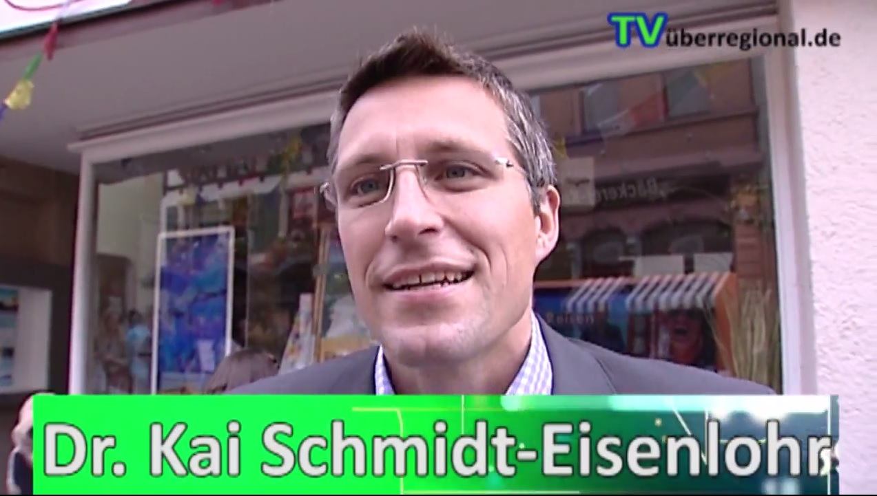 dr kai schmidt eisenlohr kandidiert als oberb rgermeister in wiesloch tvueberregional. Black Bedroom Furniture Sets. Home Design Ideas