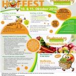 Hoffest und Kunsthandwerkermarkt – Spielparadies und Ponyreiten in Dielheim – bei Freudensprung am 10 Okt und 11 Okt 2015