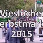 Wiesloch Herbstmarkt Genussmeile September 2015