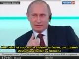 Putin – Will Deutschland wieder mit Holz heizen oder was