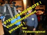 TVüberregional sucht Videofilmer oder Videofilmerinnen