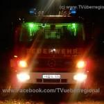 Wohnungsbrand im Mehrfamilienhaus, eine Person verletzt