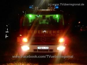 Hockenheim/Rhein-Neckar-Kreis: Bewohner bleiben bei Brand unverletzt Feuerwehr Blaulicht Brand