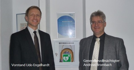 Raiffeisen-Privatbank Wiesloch-Baiertal investiert in Lebensrettung