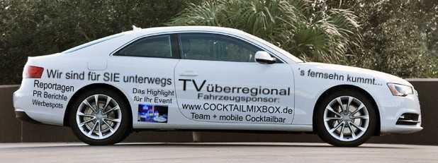 Sponsor Auto TVüberregional Lokalreporter Kraichgau Regional Werbung kleiner
