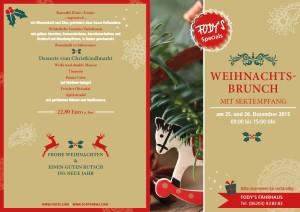 Weihnachten und Silvester bei Restaurant Fodys Fährhaus Ladenburg