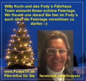 Willy Koch und das Restaurant Fodys Fährhaus Team bedankt sich...