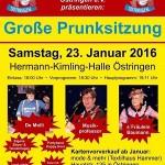 Grosse Prunksitzung in Östringen