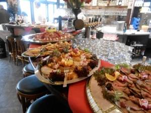 Weihnachtsbrunch Restaurant Fodys Fährhaus Ladenburg 25.12. und 26.12.