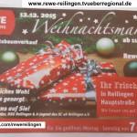 Weihnachtsmarkt bei REWE Rimmler in Reilingen am 12.12.2015