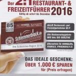 Schlemmerblock bei Rewe Rimmler in Reilingen