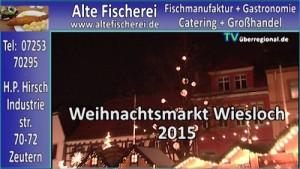 Wiesloch Weihnachtsmarkt 2015