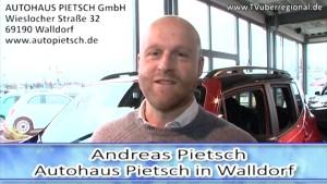Autohaus Pietsch Walldorf - KFZ Werkstatt - Neuwagen - Gebrauchtwagen