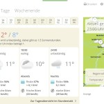 Wetter am 22.12.15