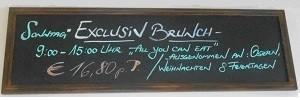 Restaurant Fodys Fährhaus Ladenburg: EXCLUSIV BRUNCH SONNTAG´s