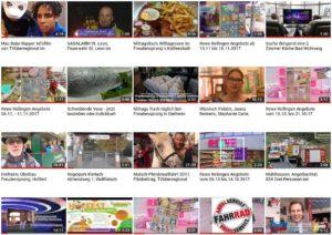 DVD Verkauf von TVüberregional Berichterstattungen und Filme.