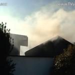Leon-Rot – Brand eines unbewohnten Wohnhausanbaus