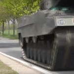 Beunruhigend – Panzer rollen wieder – unterwegs in den Osten Deutschlands