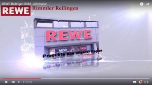 Videoeffekte - Jingles - Trailer - Werbeclips bei TVüberregional - z.B. Rewe Rimmler