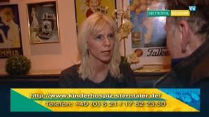 Spendenübergabe an das Kinderhospiz Sterntaler 2016 - im Fodys Fährhaus Ladenburg