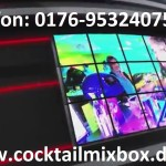 Mobile Cocktailmix Bar mieten – mit Personal