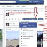 Facebook Schulung – Öffentlich posten nicht nur bei Freunde