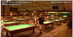 Matze's Pub, Heidelbergstr.1, 76669 Bad Schönborn
